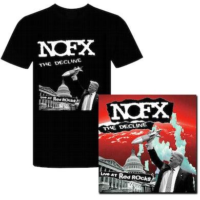 Nofx The Decline Live At Red Rocks LP (Colour) + T-shirt