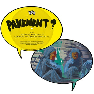 "Pavement Sensitive Euro Man b/w Brink of the Clouds / Candylad 7"" (Vinyl)"