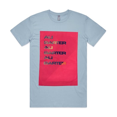 Repeater Tee (Print on Print - mixed colours)