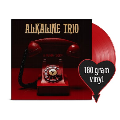 Alkaline Trio Is This Thing Cursed? LP (Opaque Red) (Vinyl)