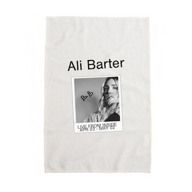 Ali Barter Live Inside Tea Towel