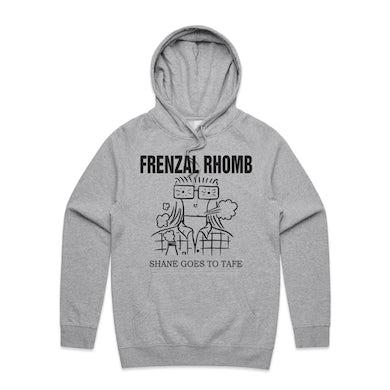 Frenzal Rhomb Shane Goes To Tafe Pullover Hoodie (Grey)