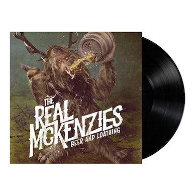 The Real McKenzies Beer and Loathing LP (Swamp Green & Beer) (Vinyl)