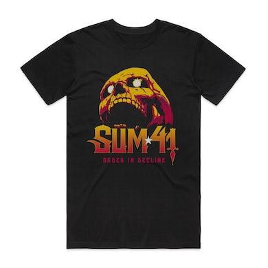 Sum 41   Order In Decline T-shirt (Black)