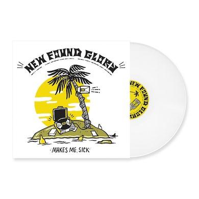 New Found Glory Makes Me Sick LP (White) (Vinyl)