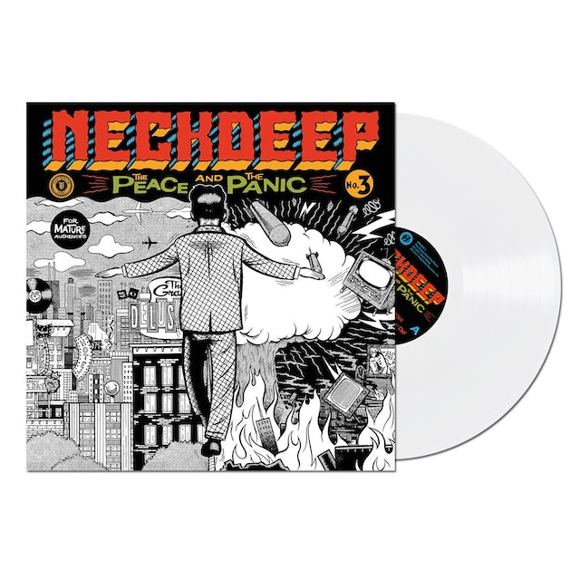 Neck Deep The Peace and The Panic LP (White) (Vinyl)