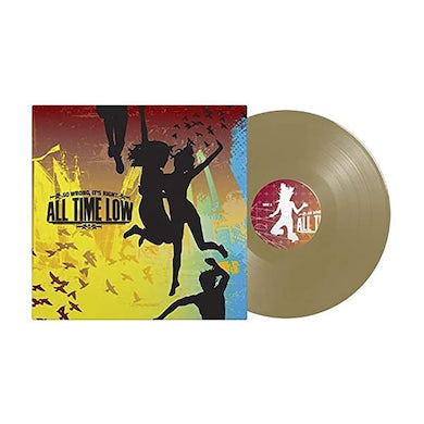 All Time Low So Wrong, It's Right LP (Gold) (Vinyl)