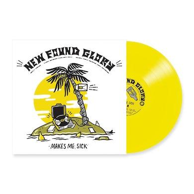 New Found Glory Makes Me Sick LP (Yellow) (Vinyl)