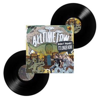 All Time Low Don't Panic: It's Longer Now 2LP (Black) (Vinyl)