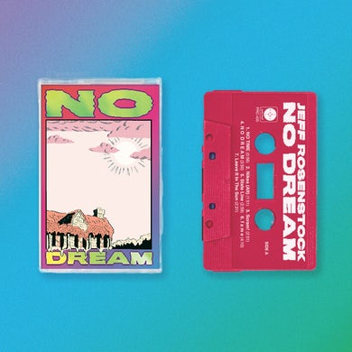 Jeff Rosenstock NO DREAM Cassette (Rhodamine Red)
