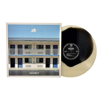 "Bayside Vacancy 12"" Vinyl (Black in Cloudy Clear)"