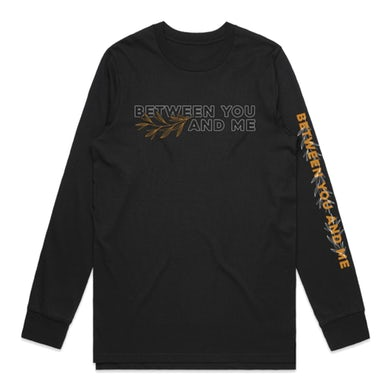 Between You And Me Leaves Longsleeve (Black)