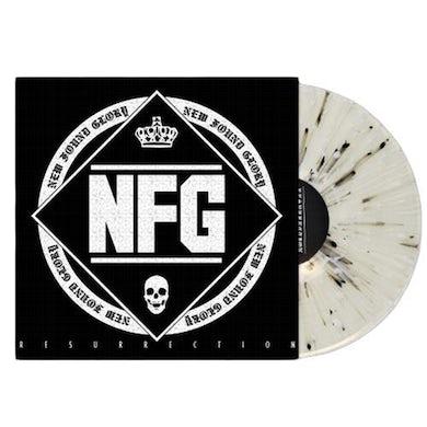 "New Found Glory Resurrection 12"" Vinyl (Clear w/ Black & White Splatter)"