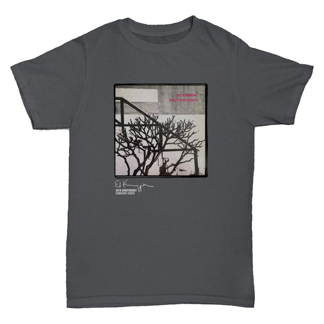 Ed Kuepper Electrical Storm T-shirt (Charcoal)