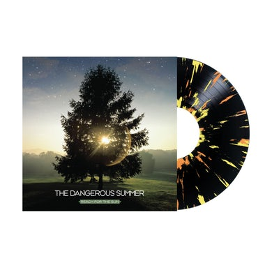 The Dangerous Summer Reach For The Sun LP (Black w/ Yellow + Orange Splatter) (Vinyl)