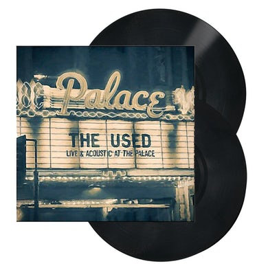 The Used Live and Acoustic at The Palace 2LP (Black w/ Cream) (Vinyl)