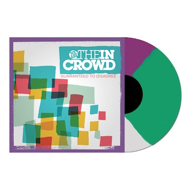 We Are The In Crowd Guaranteed To Disagree LP (Tri-Colour Vinyl)