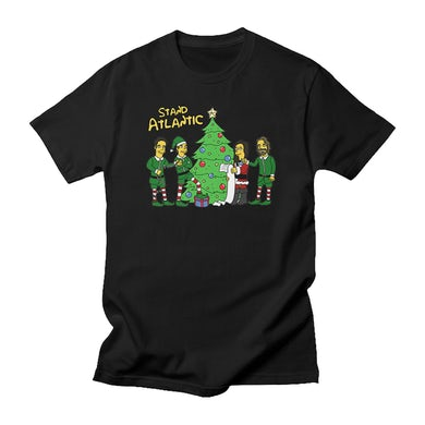 Stand Atlantic Simpsanta Atlantic Tee (Black)
