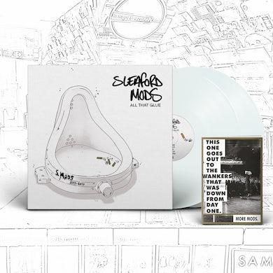 Sleaford Mods All That Glue 2LP (White vinyl + Booklet)