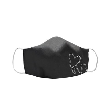 Frank Iero Barbed Wire Heart Face Mask
