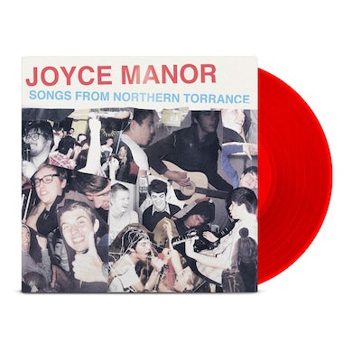 Joyce Manor Songs From Northern Torrance LP (Opaque Red) (Vinyl)