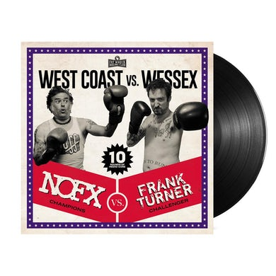 Nofx West Coast vs. Wessex LP (Black) (Vinyl)