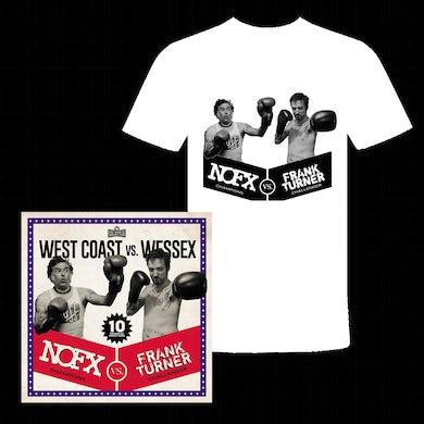 Nofx West Coast vs. Wessex CD + T-shirt