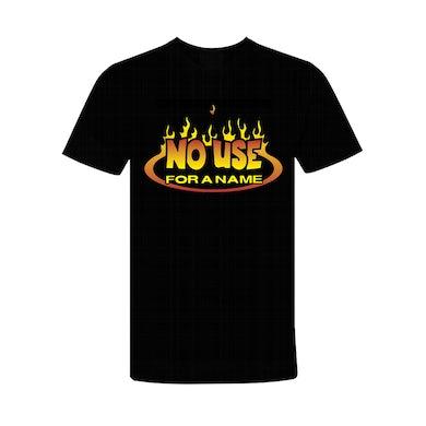 No Use For A Name Flame Logo T-Shirt (Black)
