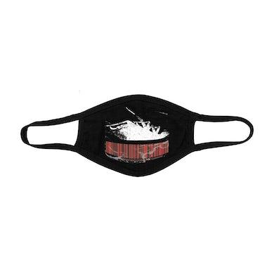 Papa Roach Roach Barcode Face Mask (Black)