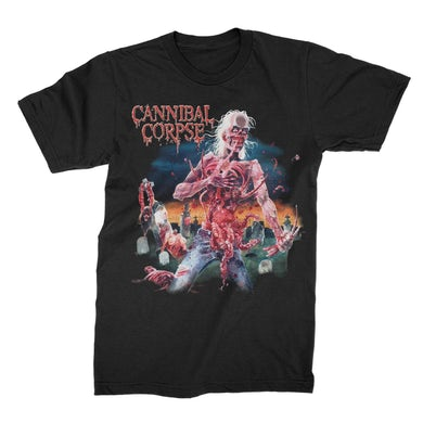 Cannibal Corpse Eaten Back To Life T-Shirt (Black)