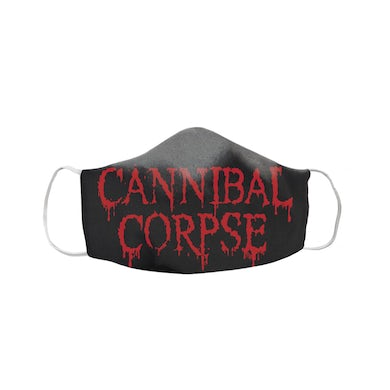 Cannibal Corpse Classic Logo Face Mask