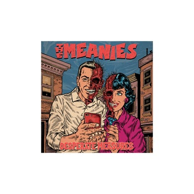 The Meanies Desperate Measures CD