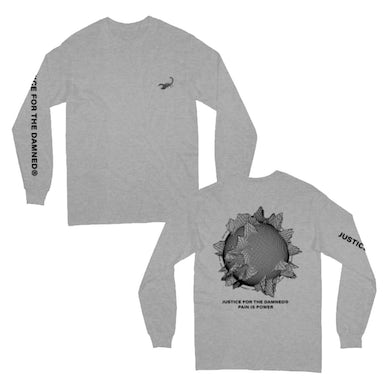 Justice For The Damned Pain Is Power Longsleeve