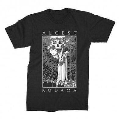 Alcest Kodama Faces/Skull Tee (Black)