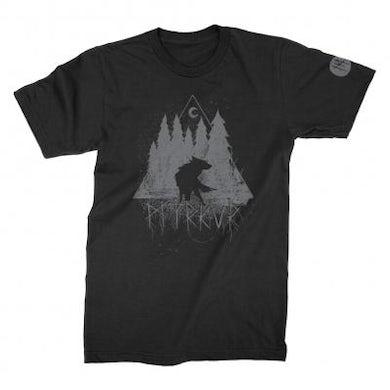 Myrkur Wolf Forrest T-Shirt (Black)