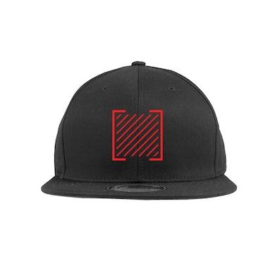 I Prevail Red Trauma Symbol Snapback Hat