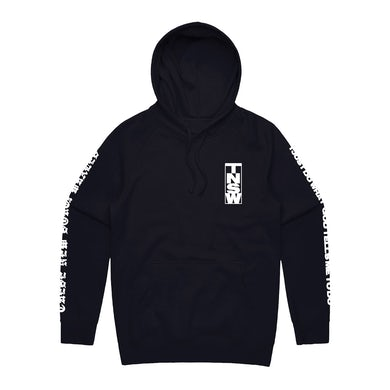 These New South Whales I Just Do What God Tells Me To Do Hoodie (Black)