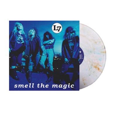 L7 Smell The Magic 30th Anniv. Reissue LP (White W/ Marble) (Vinyl)