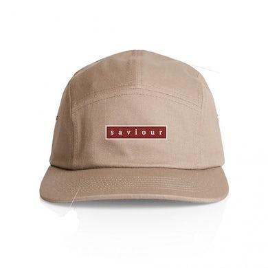 Saviour Bar Logo 5 Panel Hat (Tan)