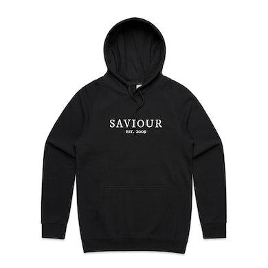 Saviour Black Crown Hoodie (Black)