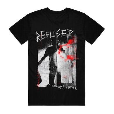Refused War music T-shirt (Black)