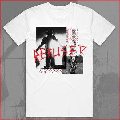 Refused War music T-shirt (White)