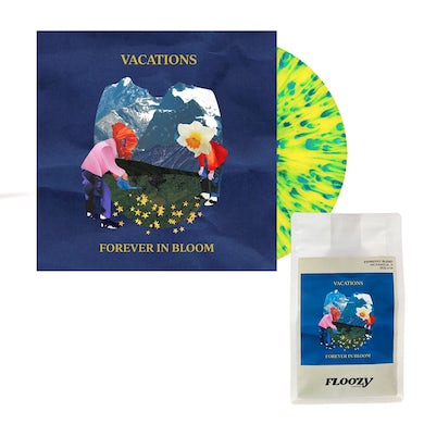 Forever In Bloom LP (Yellow w/ Blue Splatter) + Vacations Coffee (Vinyl)