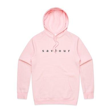 Saviour Embroidered Logo Hoodie (Pink)