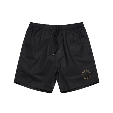 Touche Amore Logo Embroidered Shorts (Black)