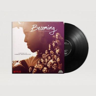 Kamasi Washington Becoming LP (Black) (Vinyl)