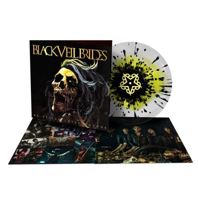 Restitch These Wounds LP (Clear w/ Yellow & Black Splatter) (Vinyl)
