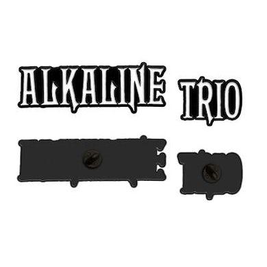 Alkaline Trio Paired Logo Enamel Pin