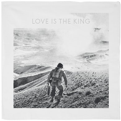 Love Is The King Bandana