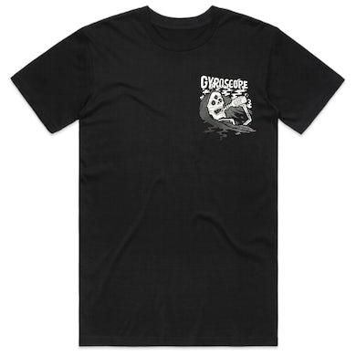Gyroscope Greyscale Reaper T-Shirt (Black)